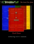 Book Cover for the Novel titled Red Door by A.E.H. Veenman