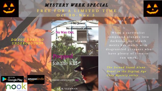 Mystery Week Promo A. E. H. Veenman